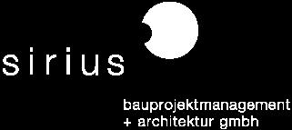 sirius bauprojektmanagement + architektur gmbh